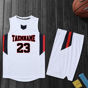 新款篮球服套装男女团购队服背心印字号