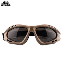 Military fan anti-wind sand male protective mirror special Commando glasses frog waterproof goggles field shooting Tactical sunglasses
