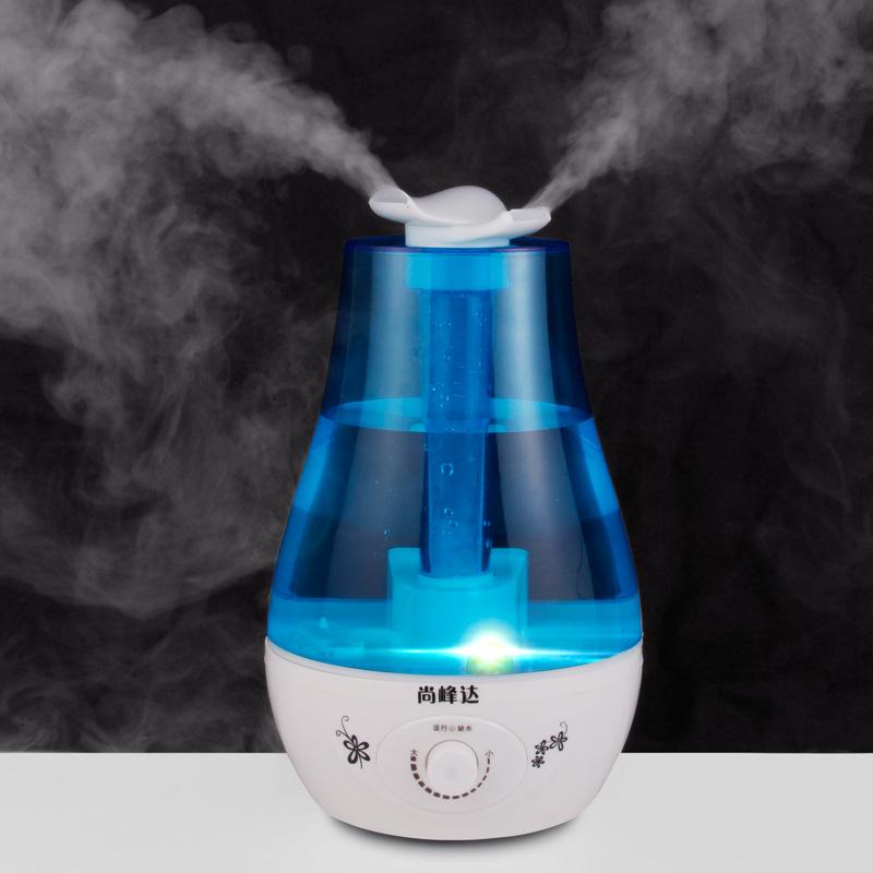 [风之恋百货店加湿器]厂家双喷加湿器超声波迷你家用桌面雾化月销量0件仅售73.15元