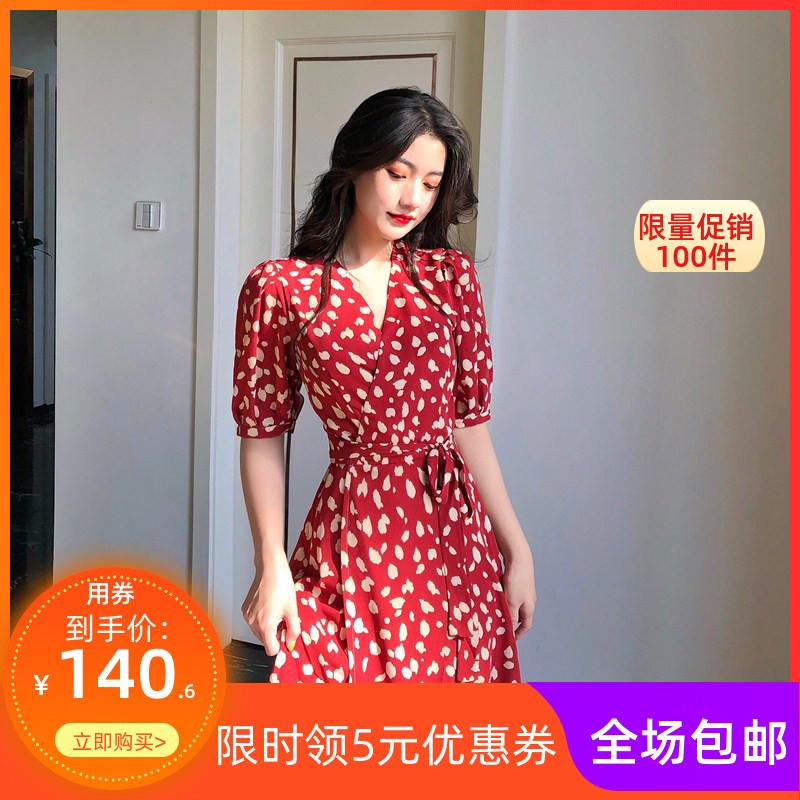 女神范超仙名媛显瘦显高气质连衣裙(非品牌)