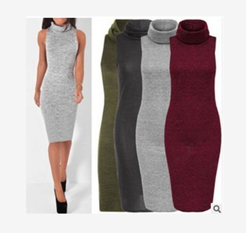 Sale Fishon Women Clothes Sexy party dresses Knitted dress