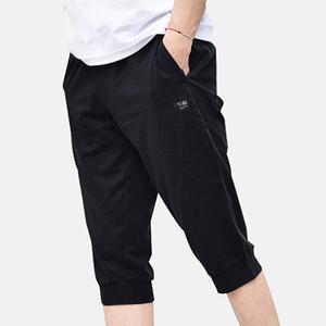 361度七分裤男秋季运动针织运动裤男士舒适短裤中长裤