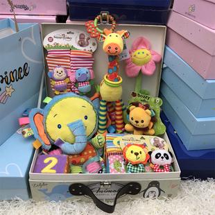滿月禮物秋冬百日送大禮包新生兒玩具禮盒母嬰兒用品嬰兒禮盒套裝