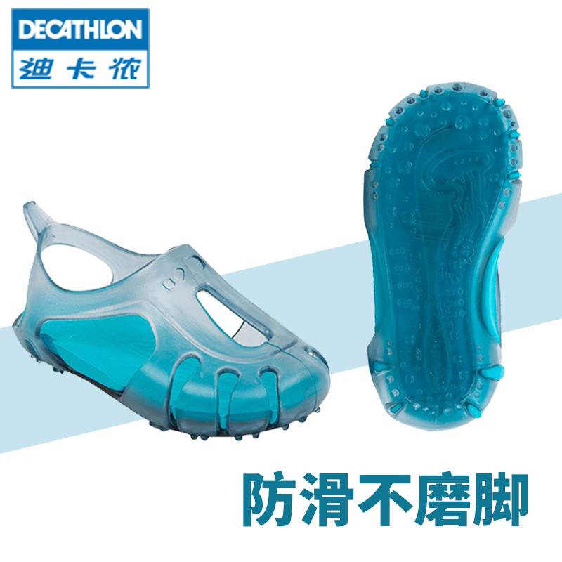 迪卡侬宝宝公主沙滩凉鞋韩版拖鞋热销64件假一赔十