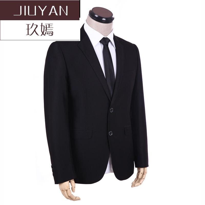 玖嫣BEEINJEJ宾纪 新款西装男外套西服男士商务上衣修身休闲结