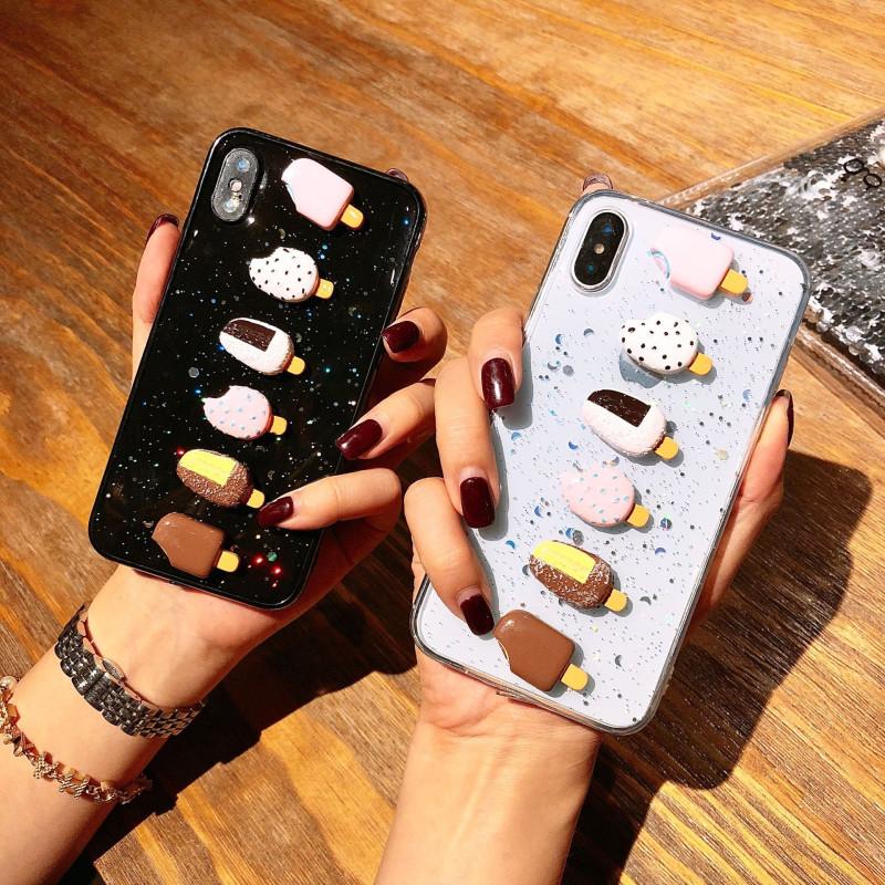 夏天冰淇淋雪糕oppo r11s手机壳r9splus滴胶软壳r11splus保护(用23.1元券)