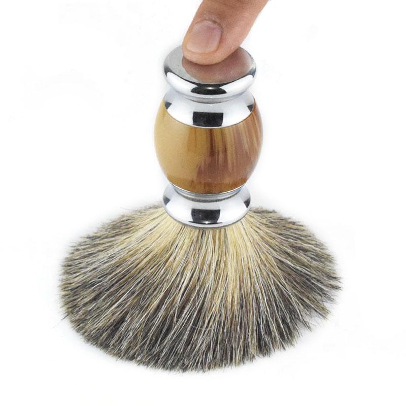 Импорт из германии борода щетка пена щетка царапина ху щетка чистый барсук щетка бритье щетка смола копия агат бритье царапина ху щетка