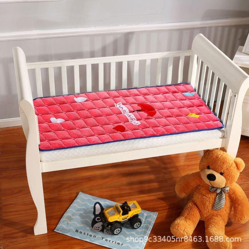 婴儿床垫冬天垫被儿童床褥子软垫幼儿园床垫专用宝宝午睡冬季加厚