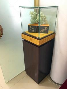 品展示柜珠宝首饰玻璃柜台玉器展柜博物馆文物陈列柜展览柜台