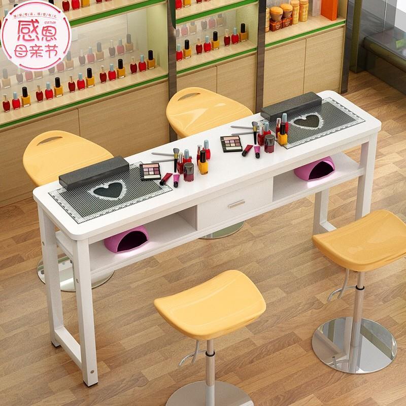 小型凳子化妆盒梳妆桌美甲桌椅收纳简美桌柜饰品组合化妆台卧室