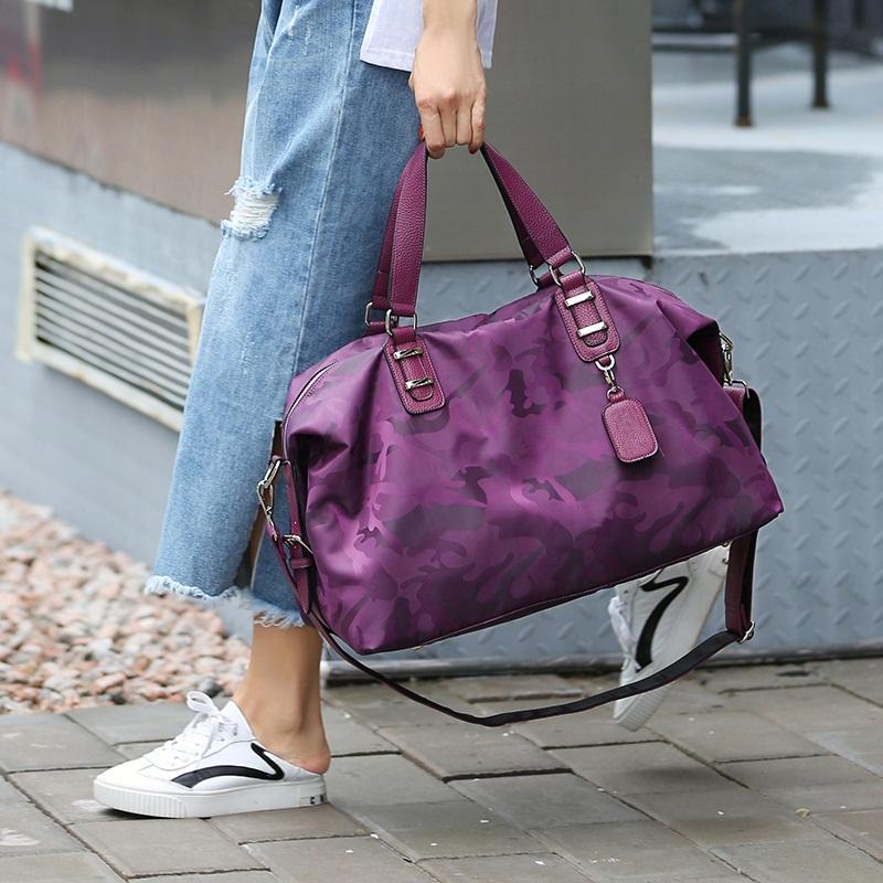 旅行包女手提包大容量行李包短途旅行袋轻便旅游包登机包健身包男