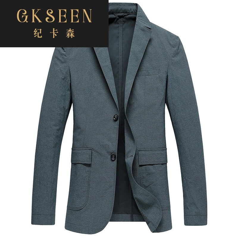 Gkseen mens spring mens casual suit thin slim fit mens Cotton Single Western coat blazer rf0923