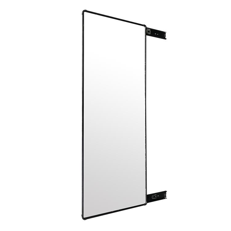 定制衣柜镜子推拉镜隐藏式伸缩镜热销1件有赠品