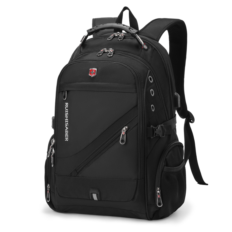 Swiss Army knife backpack mens backpack leisure large capacity travel bag business computer bag schoolbag male high school student trend