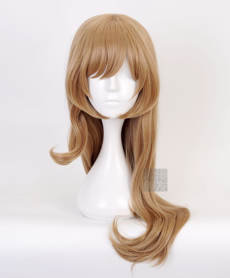[long time] Lisa Cosplay wig big roll cos fake hair animation role play