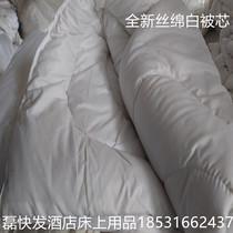 大豆纤维被子冬被双人加厚保暖被褥春天单人四季通用春秋被芯棉被