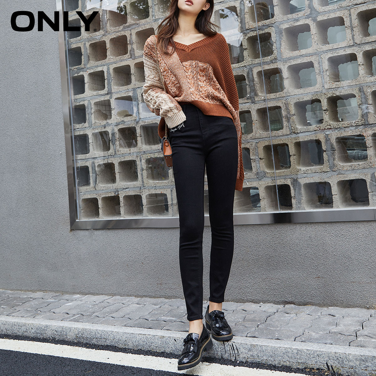 Wei Ya recommends ONLY autumn new style high waist slim slimming jeans leg pants women 120149705