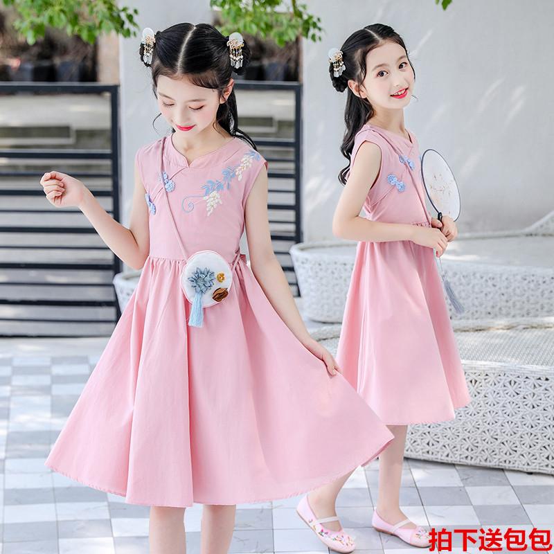 6夏装连衣裙8纯棉十11女童裙子
