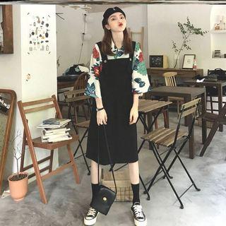 女款裙子连体春秋胖妹妹女短裤宽松胖mm女装夏2020年夏季套装