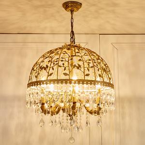 法式奢华美式复古卧室客厅灯