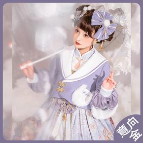 冰糖盒子lolitabox 春之晓洛丽塔优雅复古春秋季连衣裙子  意向金
