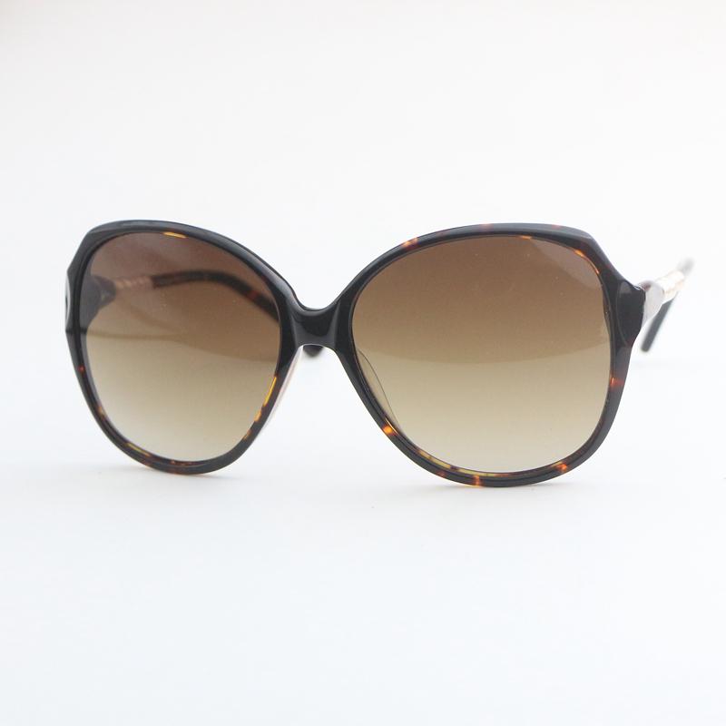 Leopard Brown classic large frame womens sunglasses 5507 plate fashion sunglasses