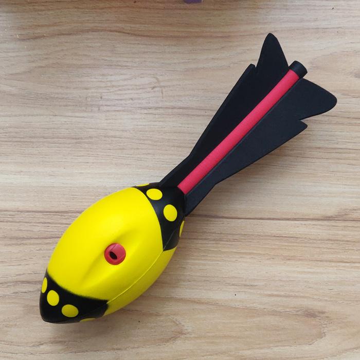 包邮儿童少儿户外体育用品运动玩具EVA材质沙滩公园投掷飞弹鱼雷
