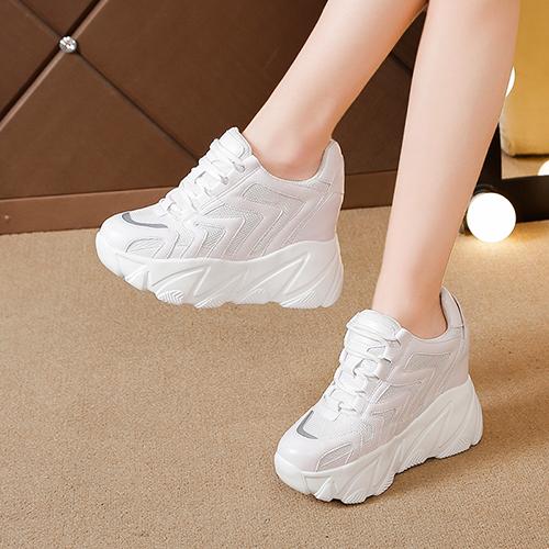 2019春季新款12cm内增高透气运动鞋