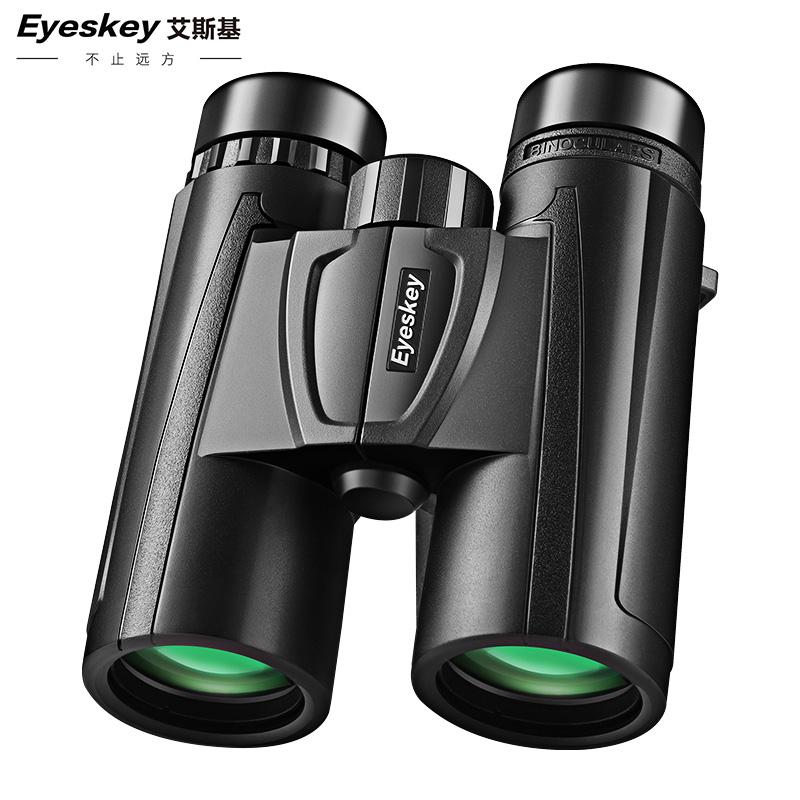 艾斯基10倍双筒手机望远镜高清高倍夜视户外防水旅游演唱会望眼镜
