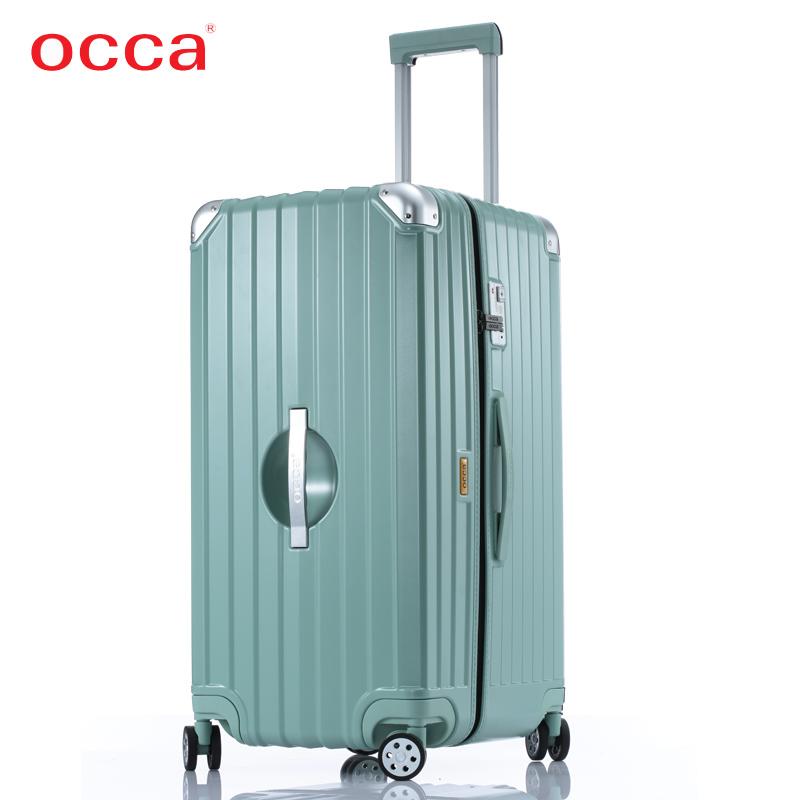 occa纯pc大容量拉链箱30寸行李箱(非品牌)