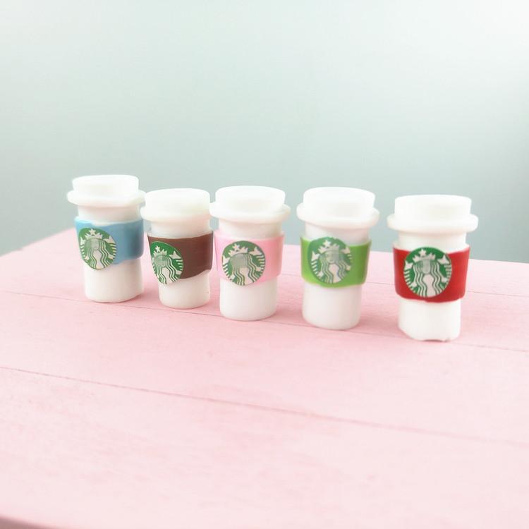 迷你世界微缩模型场景超市diy小玩具bjd饮料仿真假奶茶杯咖啡杯子