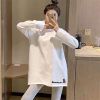 2021年春季新款白色洋气长袖打底衫好用吗