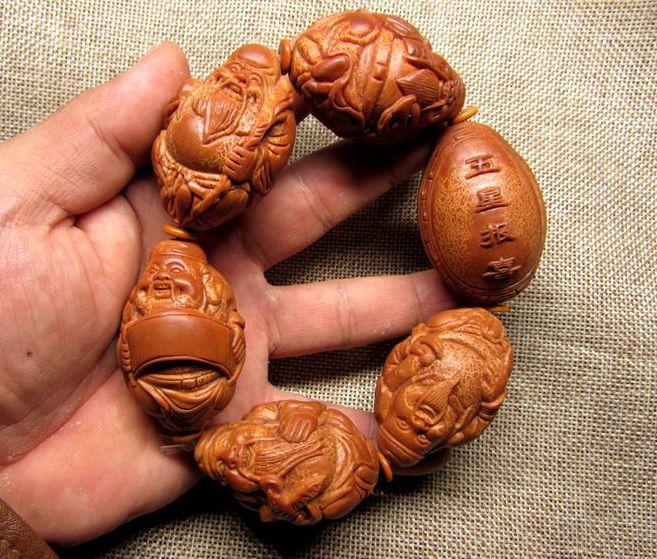 Разные сувениры из косточек фруктов Артикул 565640694590
