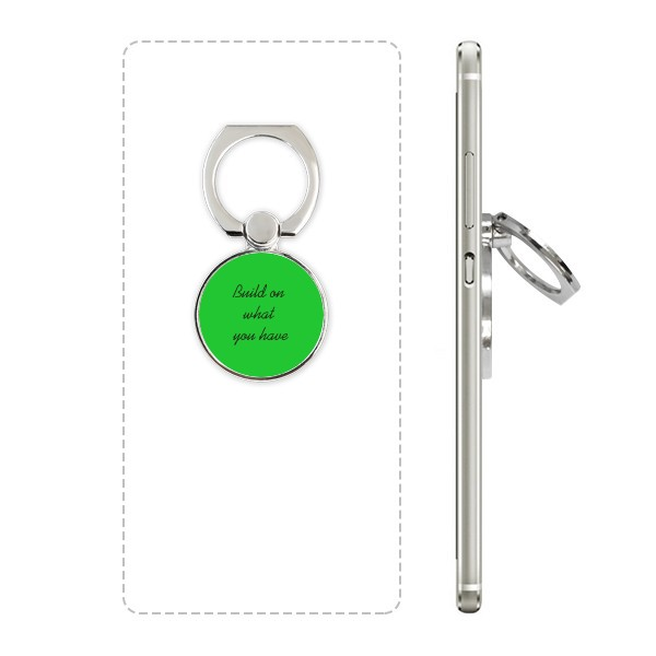 Build your own English inspirational sentences mobile phone stand ring multi-functional stick lazy desktop support gift
