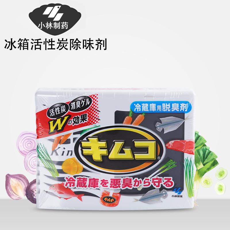 日本原装进口正品小林制药冰箱活性炭啫喱8倍消臭除臭杀菌除味剂