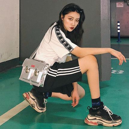 运动五分裤夏季学生宽松韩版短裤