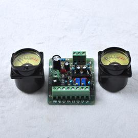 包邮电平表 2只VU表头+1块驱动板为一套 胆机机箱 功放前级 功率图片