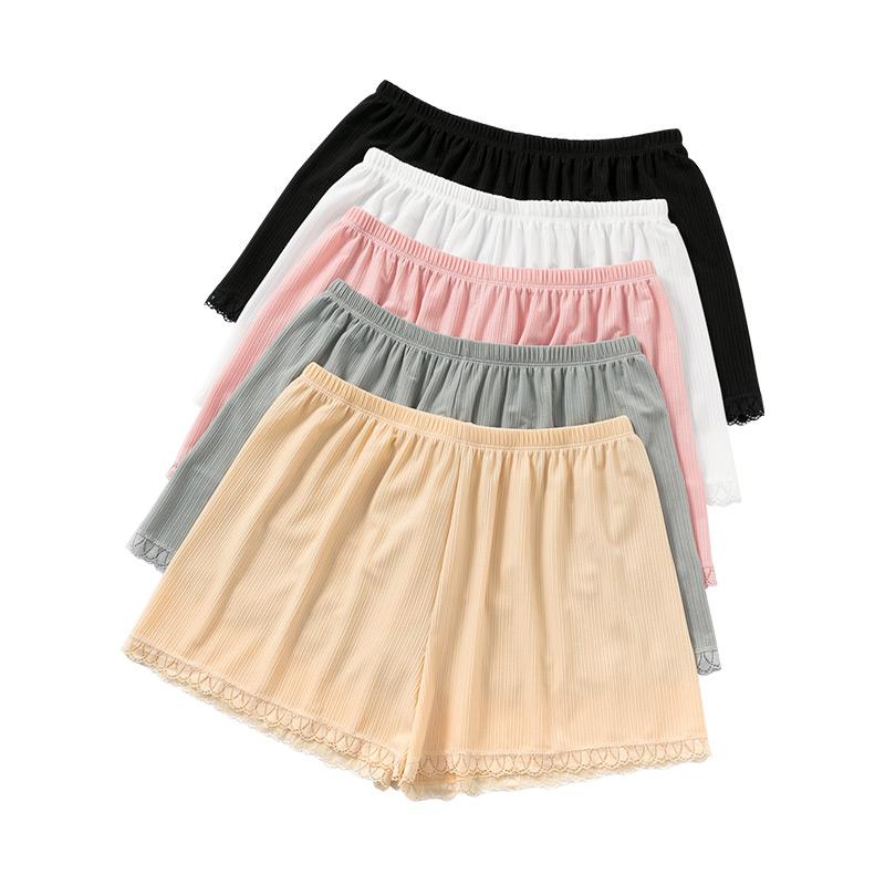 冰丝安全裤女夏季薄款防走光可外穿不卷边宽松居家短裤打底保险裤