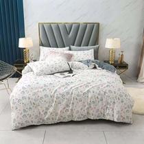 歐式家緣水星磨毛純棉四件套全棉純棉加厚床單被罩秋冬季床上用品