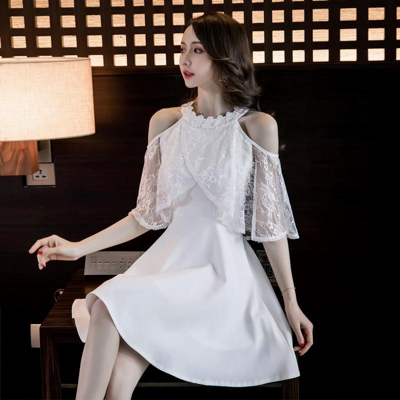 2019流行夏天裙子仙女超仙森系法国复古山本超仙心机设计感连衣裙