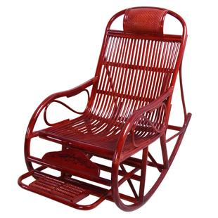印尼植物真藤椅藤摇椅休闲老人椅摇摆椅睡椅午休椅逍遥椅休闲椅