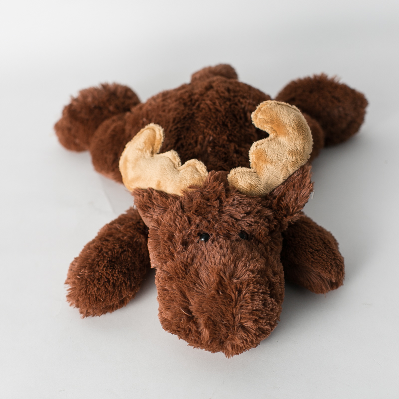 [it feels great! You can give people away! There are only a dozen out there] Super Cute moose dolls