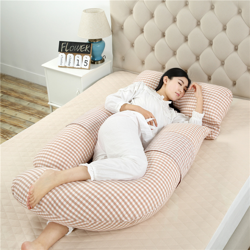 孕妇枕头护腰侧睡枕孕期侧卧护腰托腹夏季多功能u型睡觉神器抱枕
