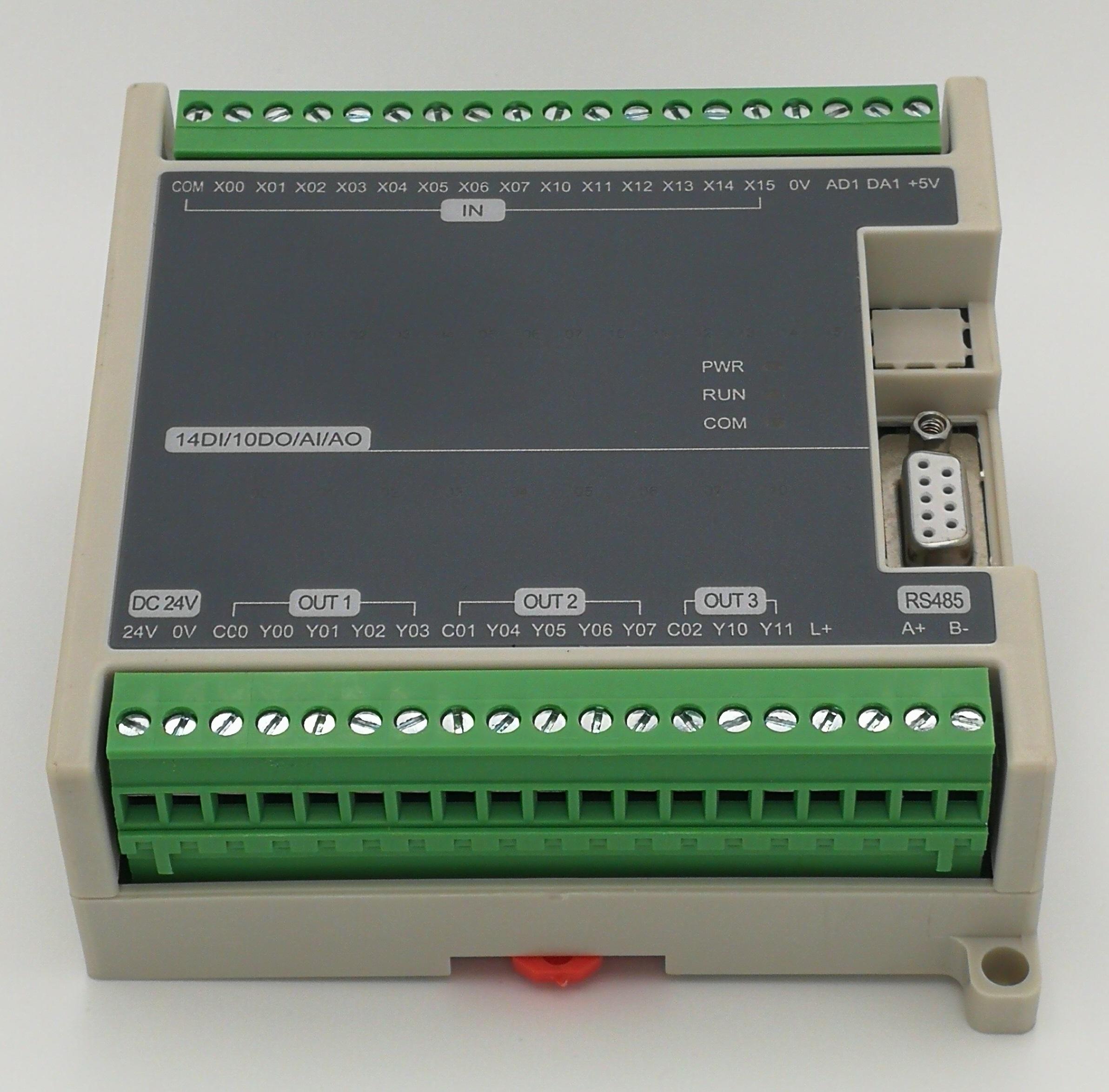 FX1N FX2N 24MR 24MT PLC 可�程控制器