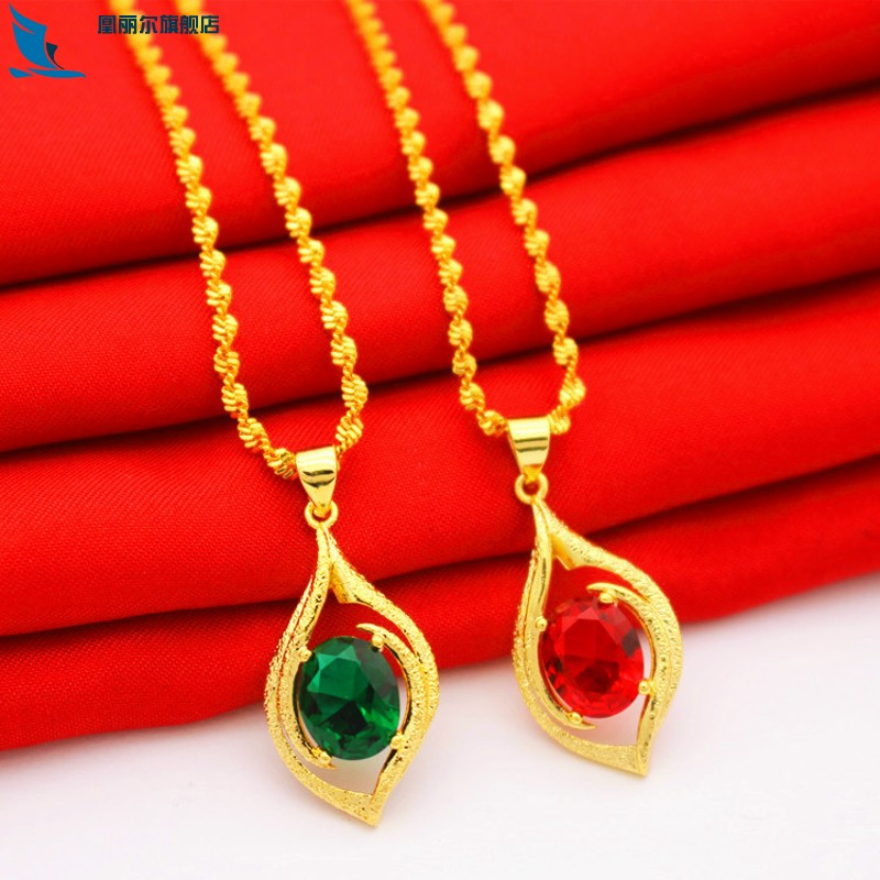 宝石时尚项链