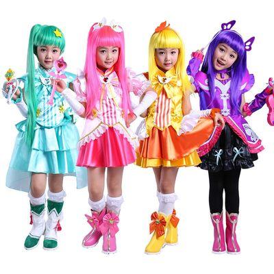 万圣节儿童服装巴拉拉巴啦啦角色扮演装扮小魔仙套装衣服公主裙