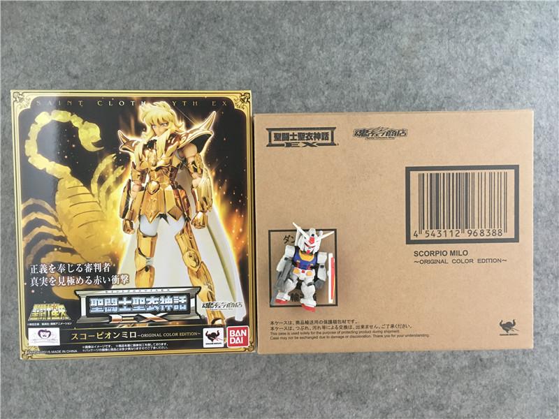 Совершенно новый японская версия десять тысяч поколение святой одежда миф EX душа предел основной цвет OCE скорпион метр ло
