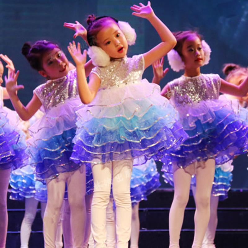 六一儿童演出服装幼儿园女童公主裙