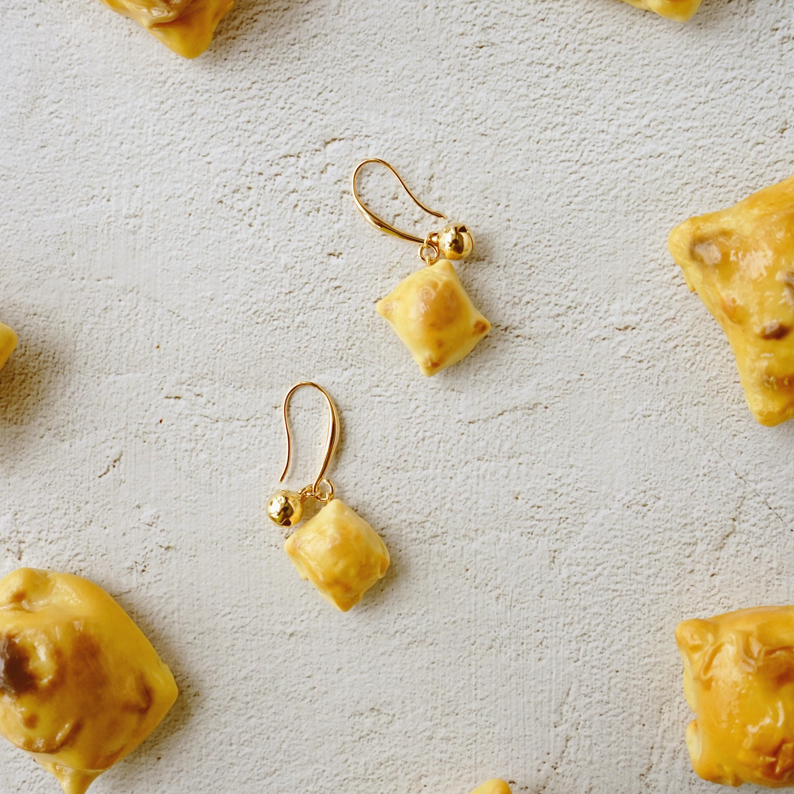 【木字边】新疆烤包子耳钩旅游纪念品铃铛耳钉工艺品送礼饰品