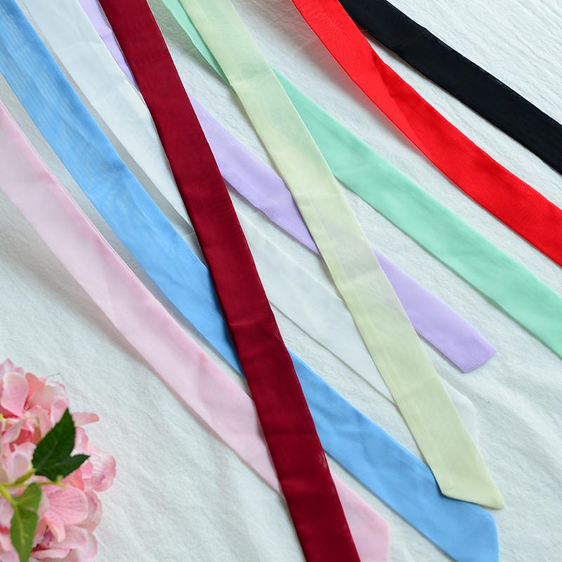 (用15.1元券)皇磊古风发带汉服古代红色两用腰带